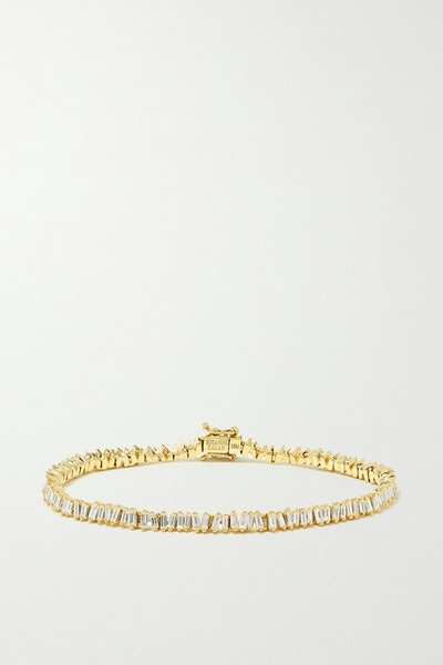 18-Karat Gold Diamond Bracelet