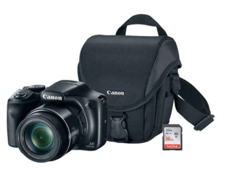 Canon PowerShot SX540 Digital Camera Bundle