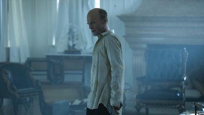 The Man in Black in 'Westworld' Season 3.