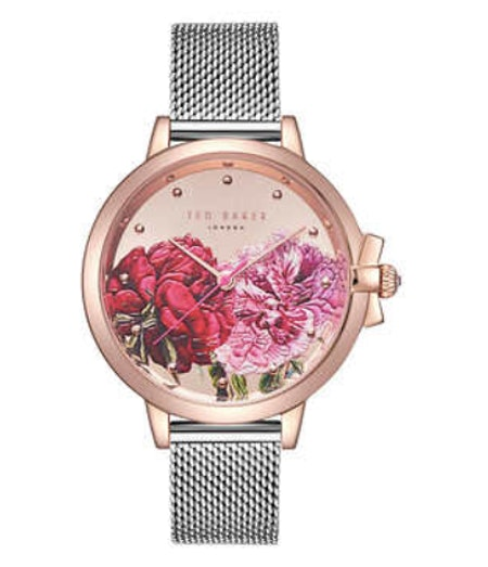 Ted Baker Rose Gold-Tone Ladies Watch