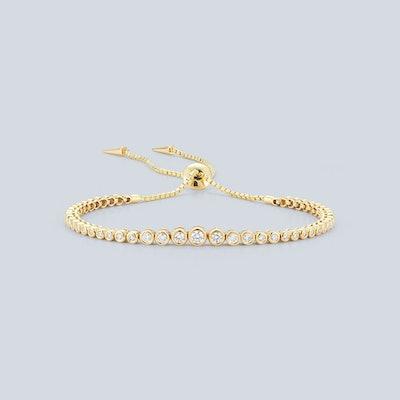 Prive Luxe Small Diamond Slider Bracelet