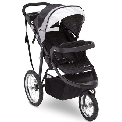 Delta Children Jeep Deluxe Patriot Open Trails Jogger