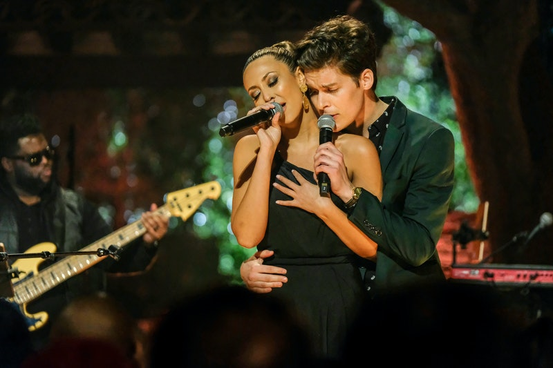 Natascha and Ryan perform on Listen To Your Heart.