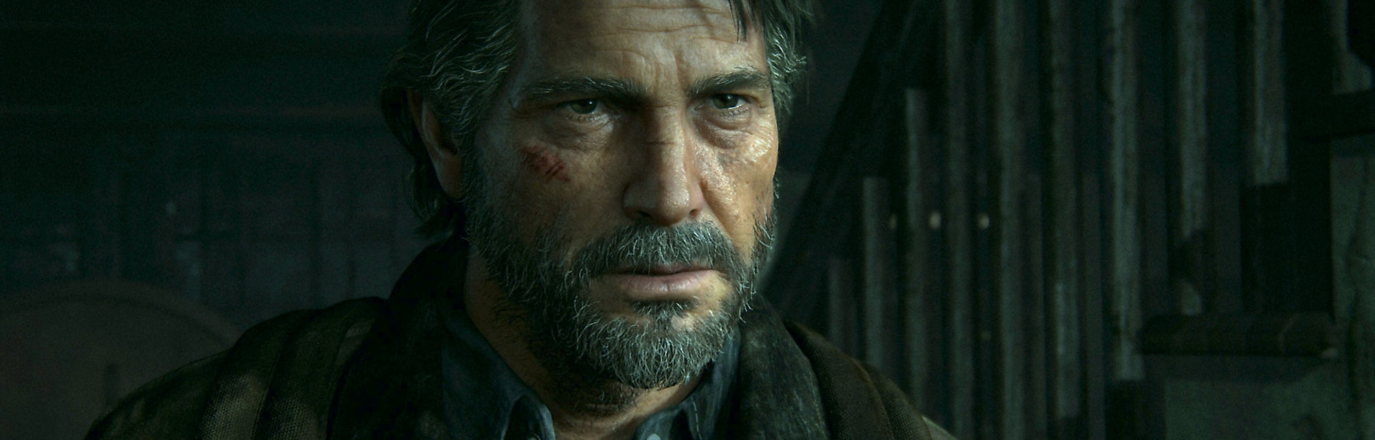 Joel, the main playable protagonist in the first 'The Last of Us' appears in this official image from the sequel.