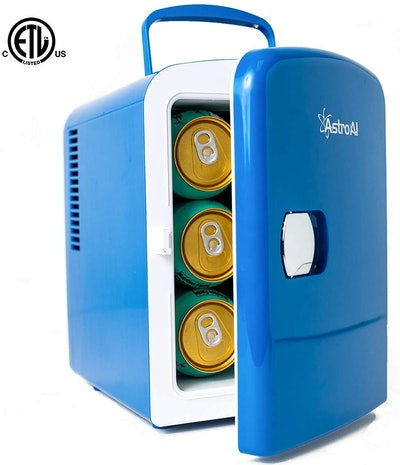 AstroAI 6-Can Portable Mini Fridge