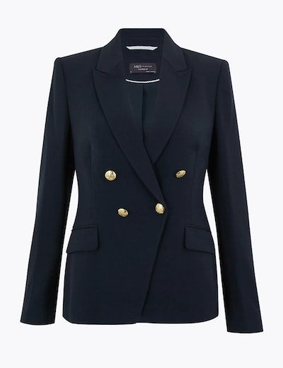 Navy Double Breasted Blazer
