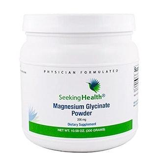 Seeking Health Magnesium Glycinate Powder, 10.58 Oz.
