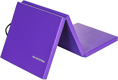 "BalanceFrom 2"" Thick Tri-Fold Folding Exercise Mat"