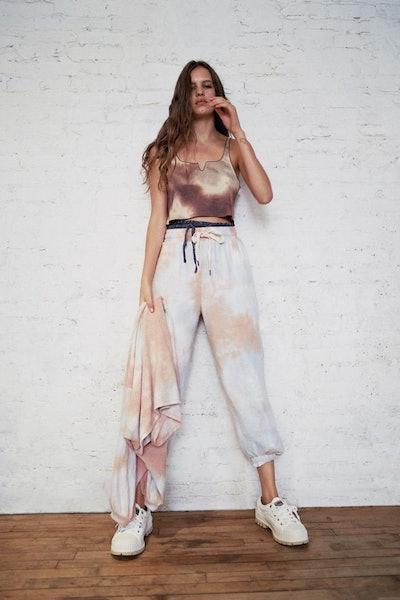 Jenny Tie-Dye Fleece Jogger Pant