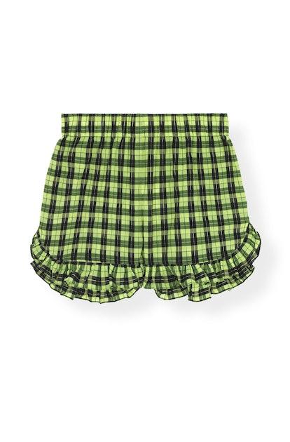 Seersucker Check Shorts