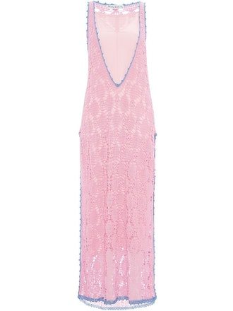 Crocheted Shift Dress