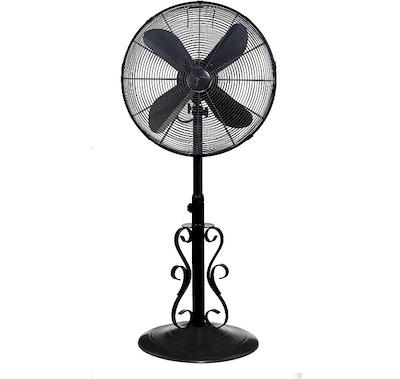 Designer Aire Oscillating Indoor Outdoor Standing Fan