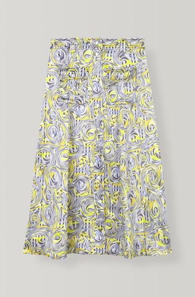 Heavy Satin Skirt