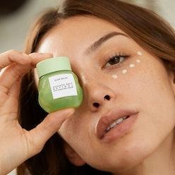 Glow Recipe's Avocado Melt Retinol Eye Sleeping Mask is on sale and in stock at Sephora