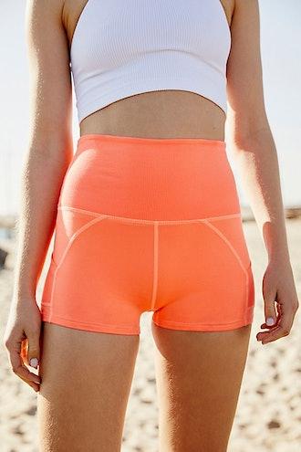 Ultra-High Rise Off Beat Shorts