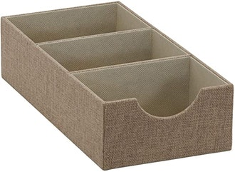 Household Essentials 3-Section Drawer Organizer