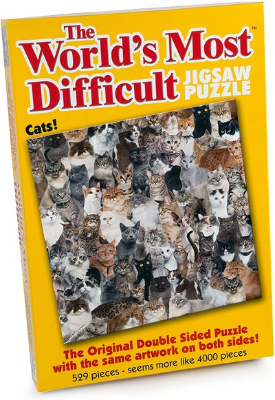 Paul Lamond Games The World's Most Difficult Cats Puzzle (529 Pieces)