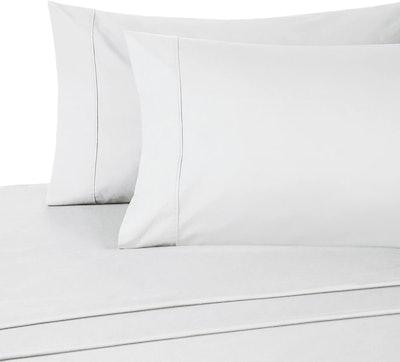 Pinzon 300 Thread Count Organic Cotton Bed Sheet Set (Queen)