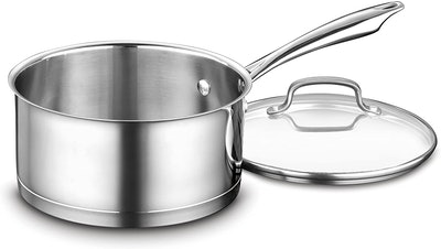 Cuisinart 3-Quart Stainless Saucepan With Cover