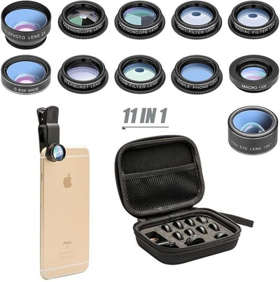 Mocalaca 11-in-1 Smartphone Lens Kit