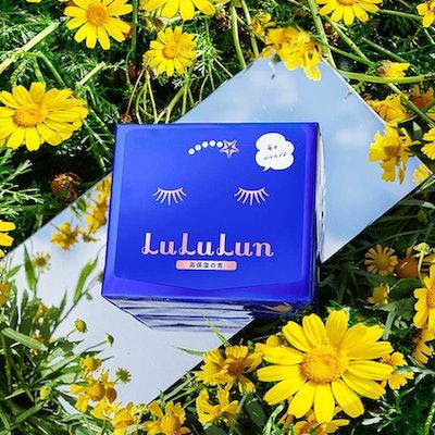 LuLuLun Blue Rich Moisture Face Masks (32-Pack)