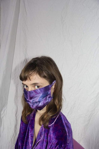 Safety Mask - Grapes
