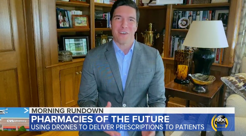Will Reeve caught pantsless on 'Good Morning America'