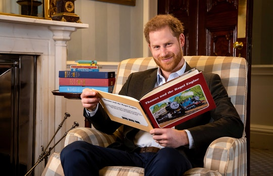 Prince Harry is celebrating 'Thomas The Tank Engine' with a special reading.