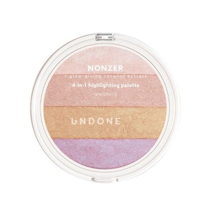Nonzer 4-in-1 Cosmetic Highlighting Palette
