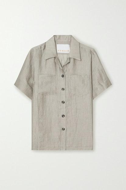 Siena Linen Blend Shirt