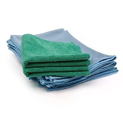 Microfiber Wholesale Glass Cleaning Cloths (8-Pack)
