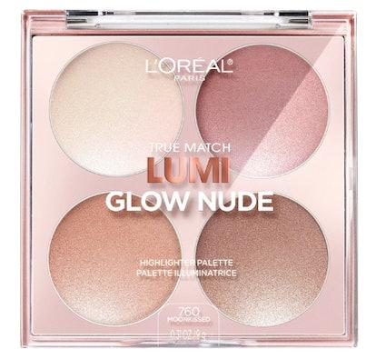 True Match Lumi Glow Nude Highlighter Palette
