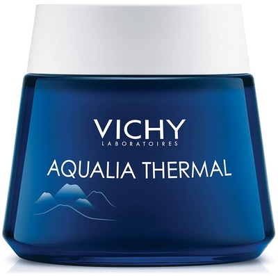 Vichy Aqualia Thermal Night Spa Cream And Face Mask With Hyaluronic Acid