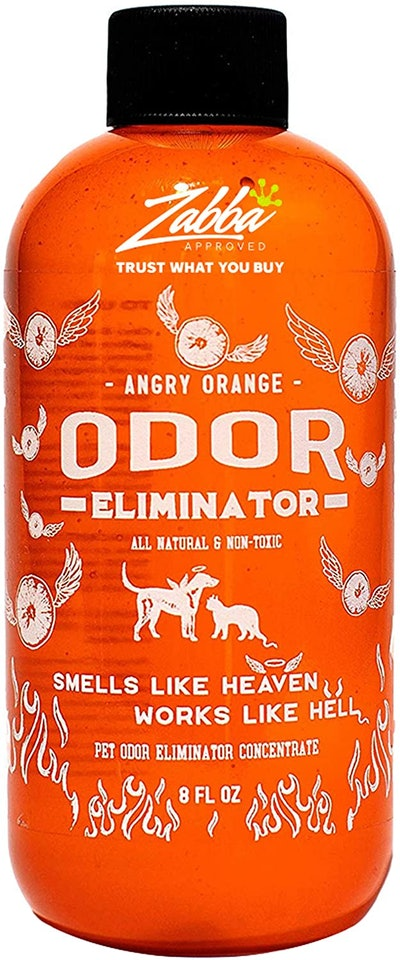 Angry Orange Pet Odor Eliminator for Dog and Cat Urine