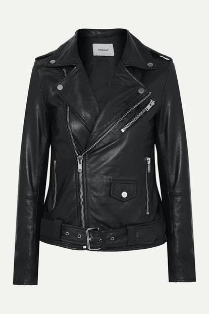 + Net Sustain Classic Biker Leather Jacket