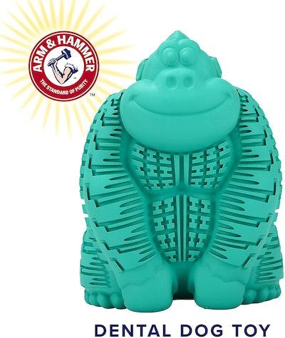 Arm & Hammer Super Treadz Gorilla  Dental Chew Toy for Dogs