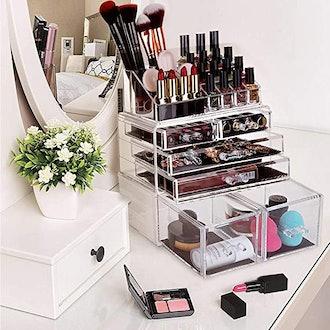 HBlife Acrylic Makeup Organizer