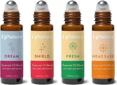 Wellness Essential Oil Roller Set (4-Pack)