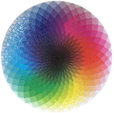Moruska Gradient Color Rainbow Jigsaw Puzzle (1,000 Pieces)