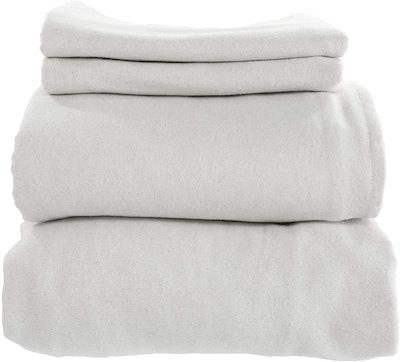 Whisper Organics Certified Organic Cotton Flannel Sheet Set (Queen)