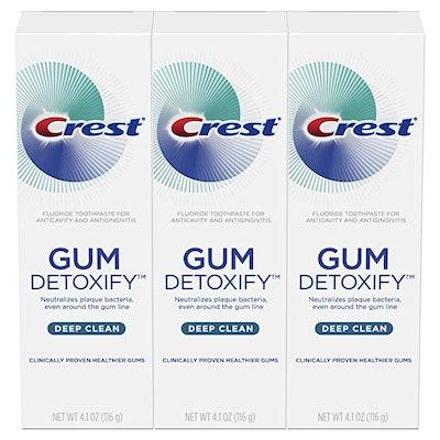 Crest Gum Detoxify (3-Pack)