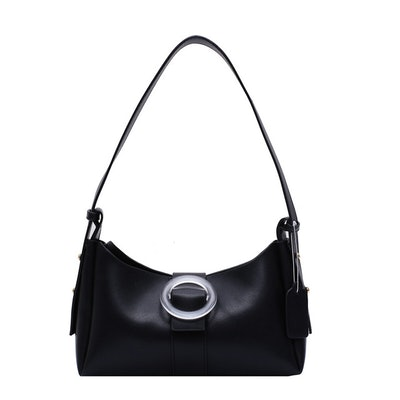 Refinery Chic Clear Buckle Shoulder Bags
