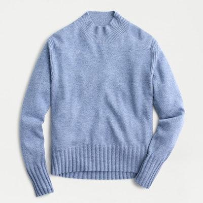 J.Crew Cashmere Mockneck Sweater