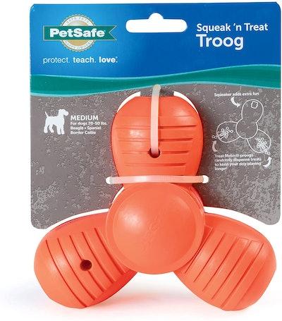 PetSafe Squeak 'N' Treat Troog Pet Chew Toy