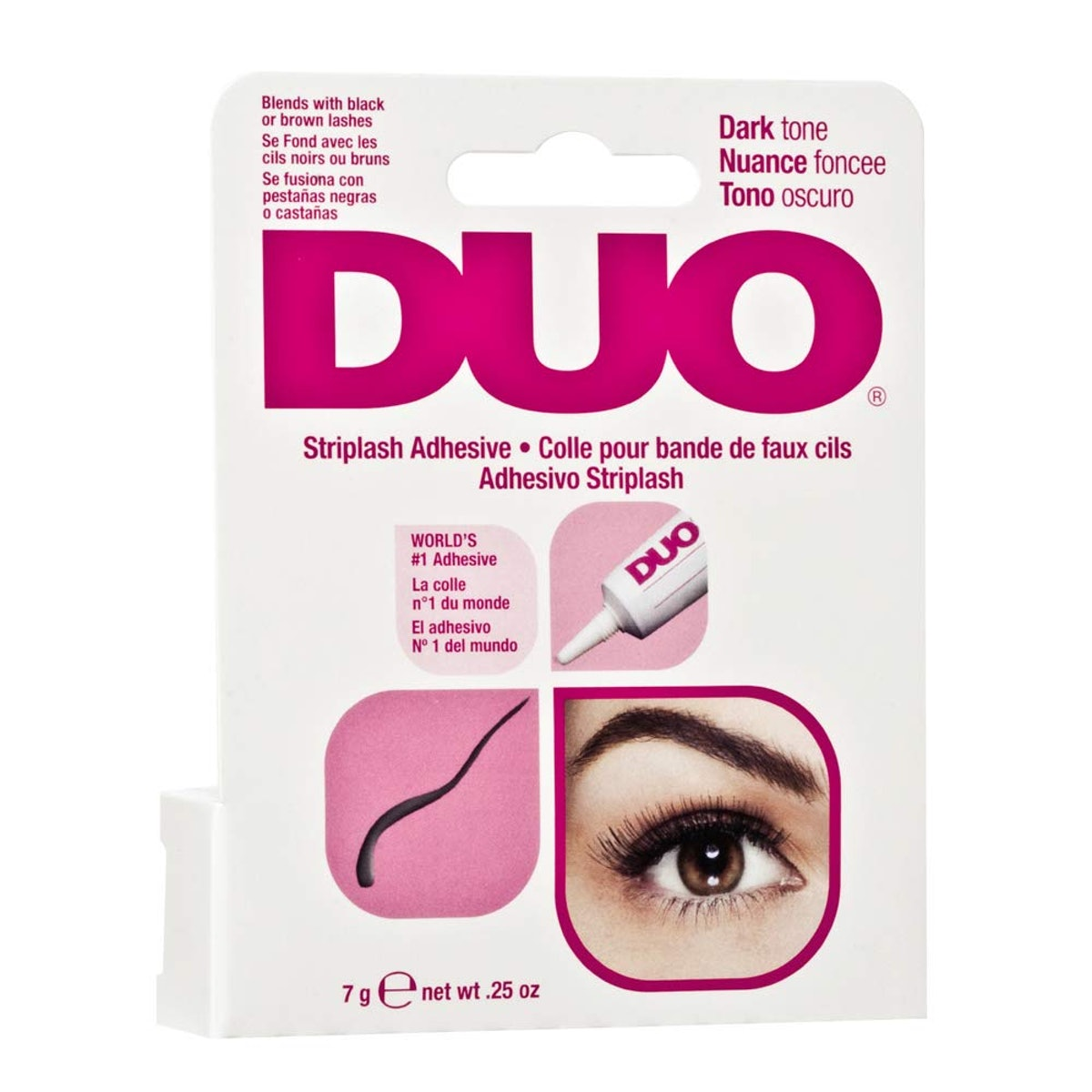DUO Adhesive for Strip Lashes, Dark Tone