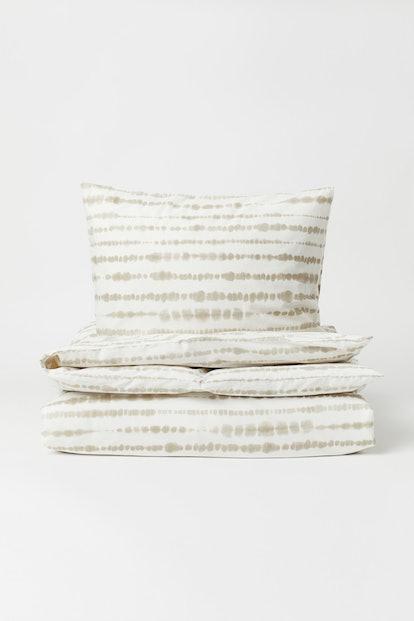 Batik-print Duvet Cover Set