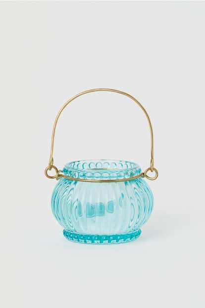 Hanging Glass Tea Light Holder