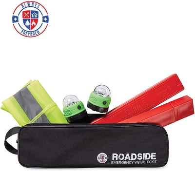 Always Prepared Roadside Visibility Kit (5-Piece Set)