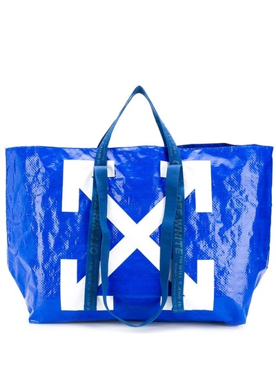 Off-White Arrows Print Oversized Tote