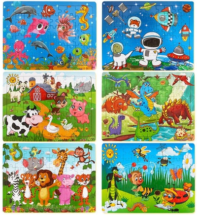 Dreampark Puzzles For Kids (6-Pack)
